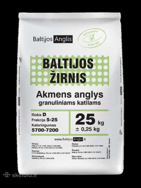 Węgiel Ekogroszek Litewski BALTIJOS ŽIRNIS